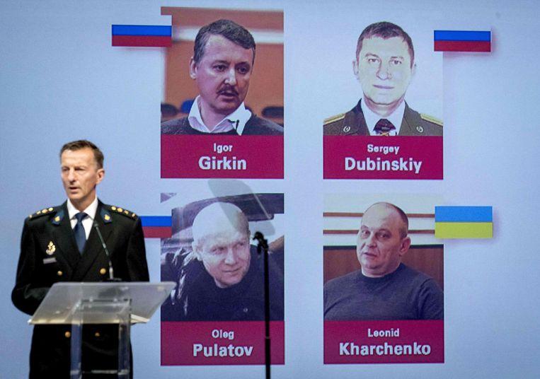 Het Nederlands gerecht vervolgt drie Russen en een Oekraïner voor het neerhalen van het toestel.