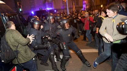 Enkele duizenden betogers op straat in Barcelona: 24 gewonden