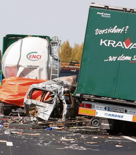 A73 behoort tot grootste stijgers aantal ongelukken in Nederland