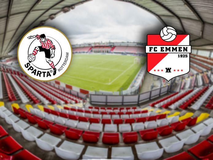 Sparta - FC Emmen.