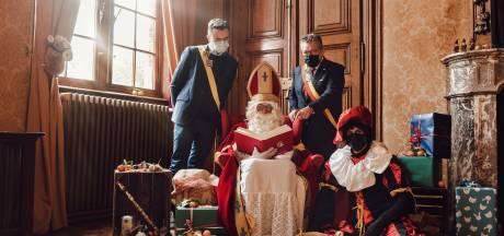 Sinterklaas is in Brugge en houdt videochat