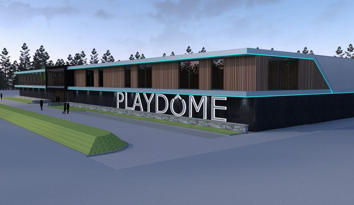 Zo moet Playdôme er straks uit komen te zien