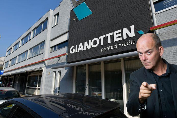 Gianotten Printed Media faillietDrukkerij Gianotten Bredaseweg