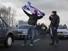 Betogers tegen Zwarte Piet nergens welkom
