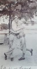 Willard Jenkins (rechts) en een medesoldaat.