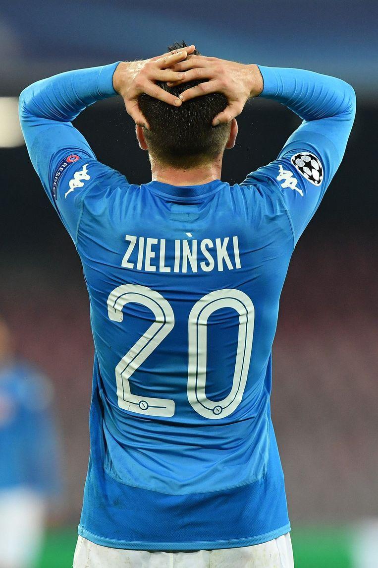 Het lot van Napoli en Zielinski hangt aan een zijden draadje.