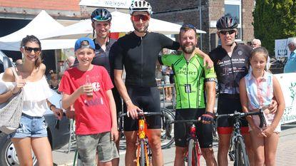 David Inghels wint kermiskoers voor wielertoeristen