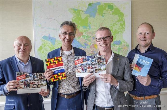 Het Duitsland-team van de Gemeente Enschede