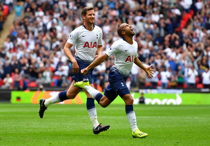 Eerder dit seizoen won Spurs op Wembley met 3-1 van Fulham.