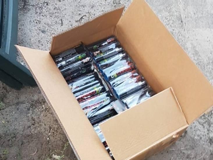 Man heeft 7 kilo illegaal vuurwerk bij zich in Gilze en Rijen