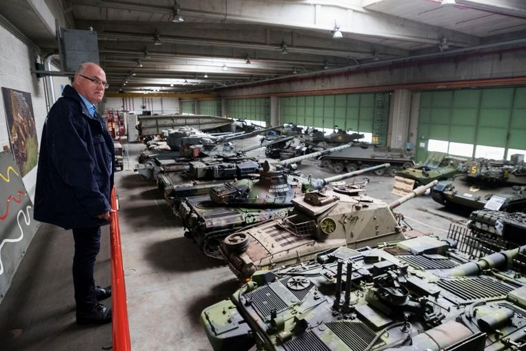 Het museum beschikt onder meer over een indrukwekkende collectie tanks.