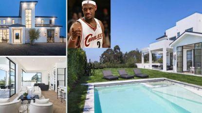 Een villa de tweede best verdienende sporter ter wereld waardig: LeBron koopt stulpje van 19,2 miljoen in LA