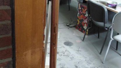 Inbrekers houden lelijk huis in KBO-school