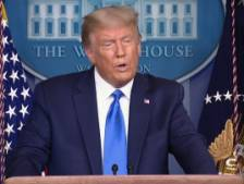 Trump déclare qu'il ne peut pas garantir un transfert de pouvoir pacifique