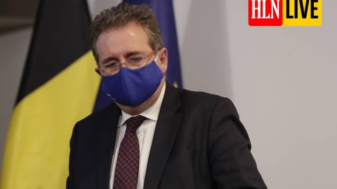 """LIVE. Ook strengere maatregelen in Brussel: avondklok van 22 uur tot 6 uur en algemene mondmaskerplicht - Bouchez: """"Waarom niet zelfde regels voor hele land?"""""""
