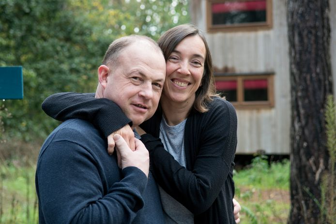 Boer Gerard met partner Marijke