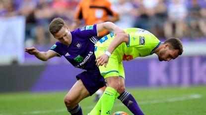 Anderlecht en AA Gent hebben eerste puntje beet: saaiste match uit play-off 1 eindigt in scoreloze draw