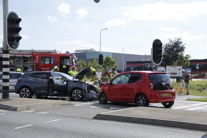 Het ongeval vond plaats op de Berencamperweg in Nijkerk.