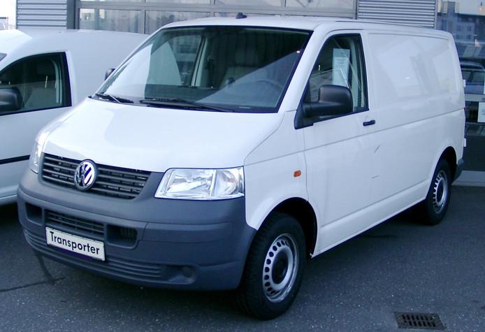 Een willekeurige VW Transporter.