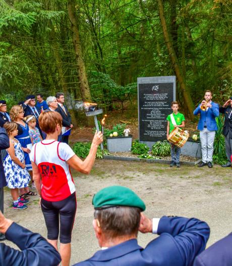 Herdenking bevrijding: Lopend vuurtje door Cranendonck
