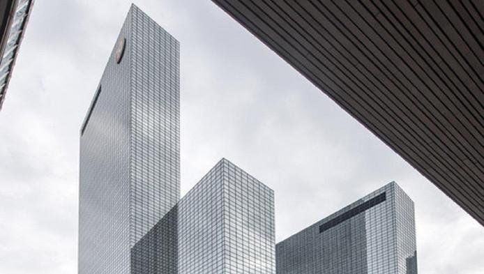 De Delftse Poort naast Rotterdam CS was lang het hoogste kantoor van het land.