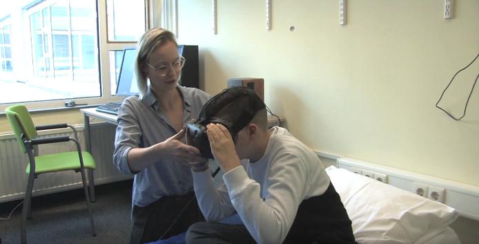 Virtual Reality bereidt kinderen voor op een operatie.