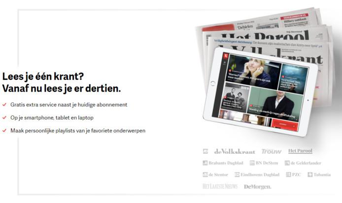 Topics selecteert uit dertien kranten de voor jou meest relevante artikelen.