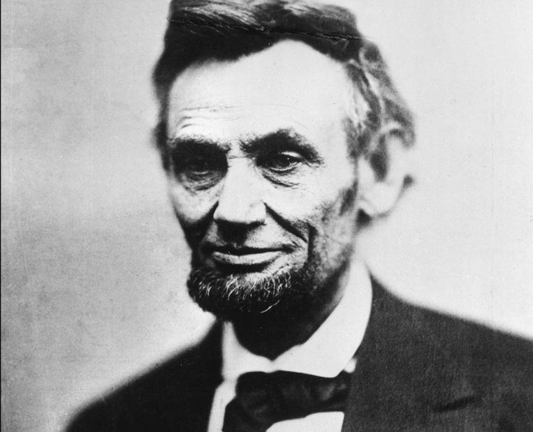 Abraham Lincoln (1809-1865) schafte de slavernij af en beëindigde de Amerikaanse Burgeroorlog (1861-1865).