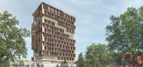 Nieuw hotel aan A12 in Ede met rooftop op 52 meter hoogte