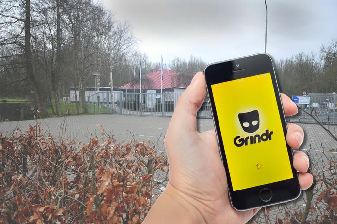 De parkeerplaats van voetbalvereniging Wieldrecht, de plek waar één van de slachtoffers in april 2018 werd toegetakeld.