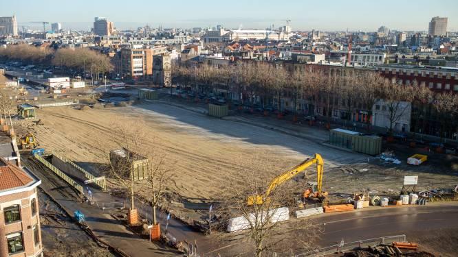 Protest van buren blijkt nergens voor nodig: aanleg park Gedempte Zuiderdokken gebeurt volgens boekje, zegt extra studie