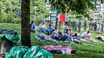 Brusselse politie ontruimt Maximiliaanpark in aanloop naar Tour de France
