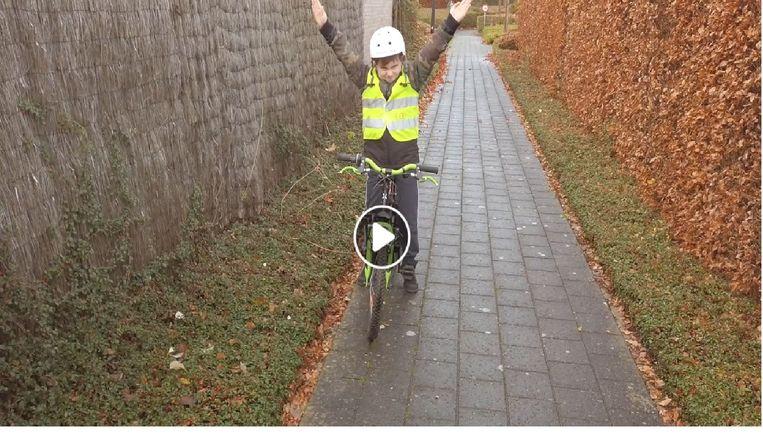 Screenshot van het filmpje.