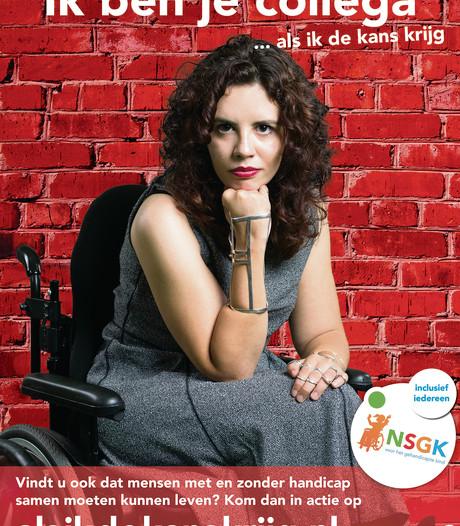 Halsterse Christel Verbogt (20) is het gezicht van landelijke campagne voor gehandicapte kinderen