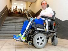 MS-patiënt Erik gaat traplopen: MS laat mij alle hoeken van de kamer zien, maar ik vecht terug