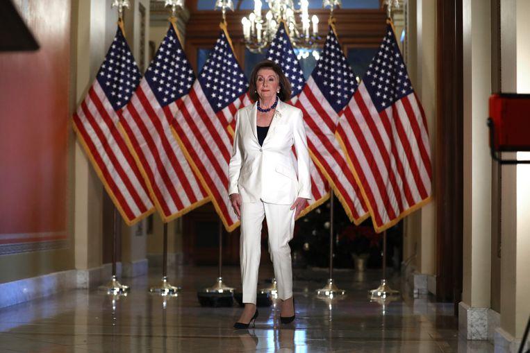Nancy Pelosi Beeld Getty Images