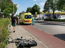 Fietser gewond na botsing met auto in Ede