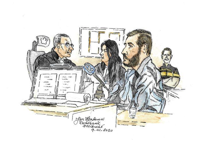 Verdachte Stephan K. is veroordeeld voor de moord op zijn ex Bianca van Es.