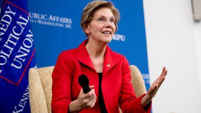 Amerikaanse senator Elizabeth Warren stelt zich kandidaat voor Democratische presidentiële voorverkiezingen 2020