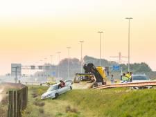 Bestuurder na ongeval op A12 aangehouden