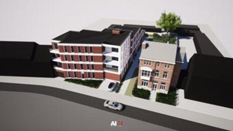 Zo ziet het project op site 'Café Boulevard' eruit volgens de plannen.