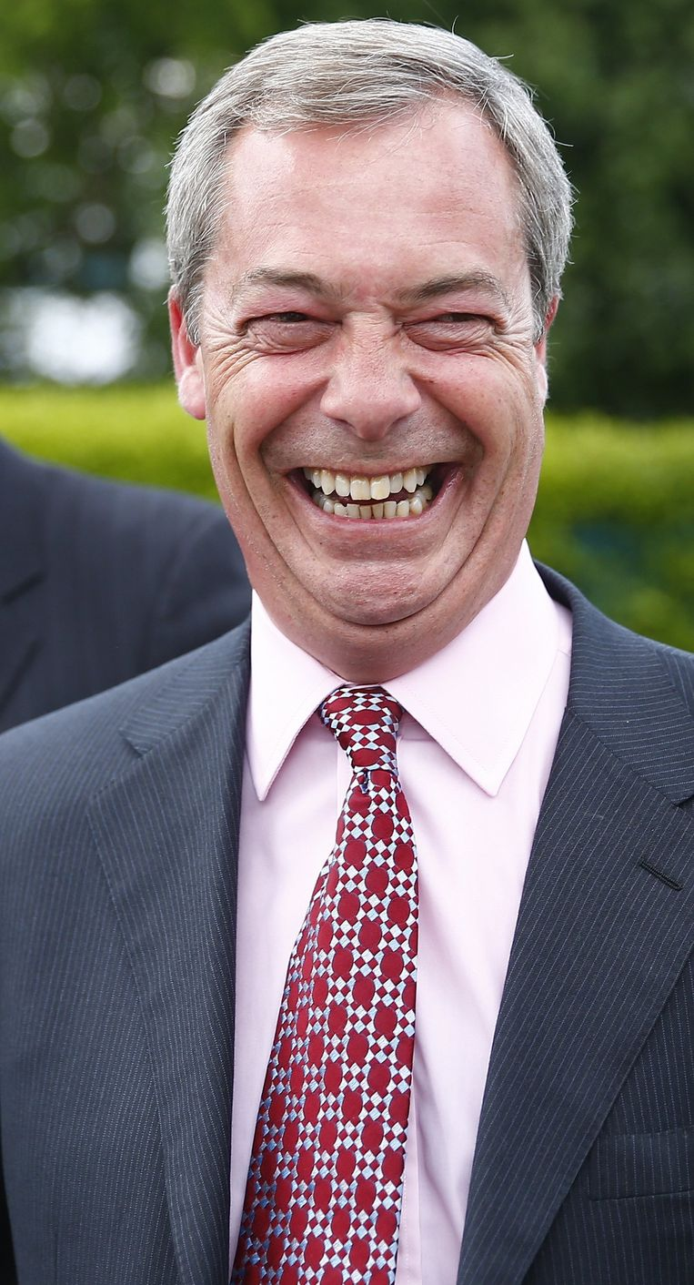Nigel Farage (UKIP) Beeld reuters