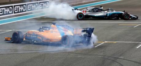 Hamilton, Vettel én Alonso trakteren fans op 'donuts'