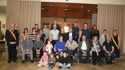Ferdinand en Lucie 65 jaar gehuwd in Massemen
