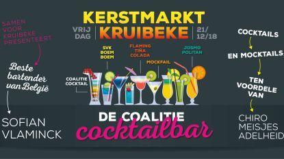 Inwoners mogen zelf coalitie bepalen in cocktailbar