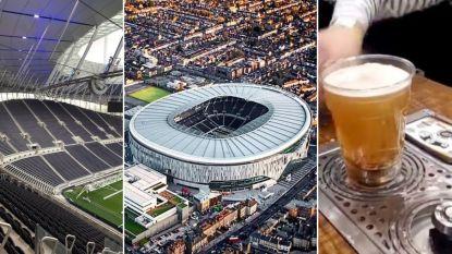 Een 'muur van geluid', een NFL-veld eronder en tot 10.000 pintjes per minuut via ingenieus tapsysteem: nieuw stadion Tottenham vandaag (eindelijk) open