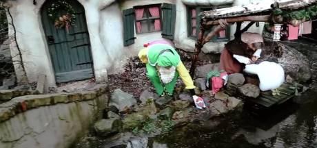 Grappenmakers Efteling uitgezet na 'kabouterinvasie'