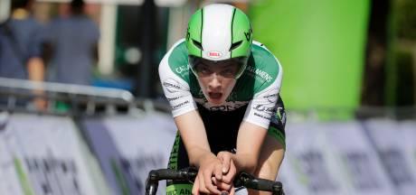 Talentvolle wielrenner Edo Maas (19) houdt dwarslaesie over aan val