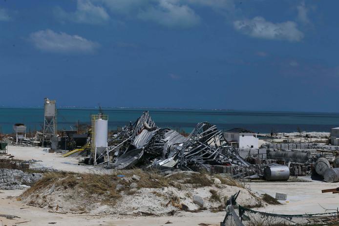 Marsh Harbour, frappée par l'ouragan Dorian, est un paysage de désolation