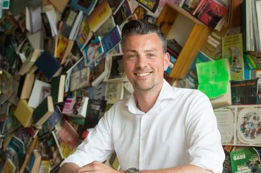 Vertrekkend directeur Arend Hardorff van de NHTV in Breda.